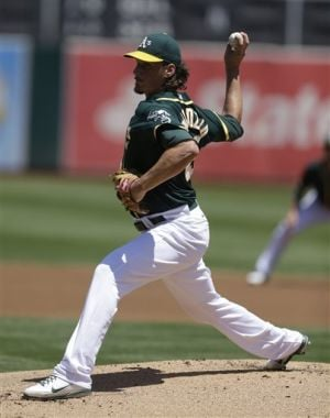Samardzija cruises to his second win for Oakland