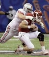 Ohio State holds off Arkansas to win Sugar Bowl