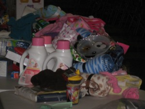 St. John the Baptist School collects for needy