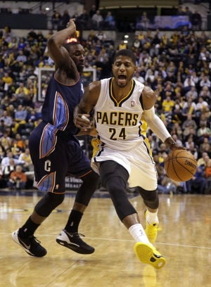 Pacers beat Bobcats, up home record to 11-0