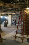 Remodeling work continues on St. Margaret Hospital in Dyer.