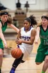 Merrillville's Jasmine Wright is happy to keep voice low, points high