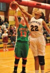 Bowman's Joshlynn King,Wheeler's Christina Gandy