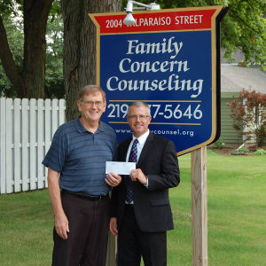 Porter County Community Foundation awards grant to Family Concern Counseling