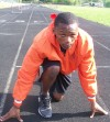West Side sprinter Jonvae Johnson