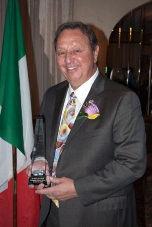 Zuccarelli receives first Columbus Patriot Award from Order Sons of Italy in America