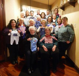 Lake County Extension Homemakers chorus donates to home