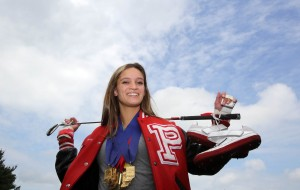 Portage's Mackenzie Barcelli is Times female athlete of the year