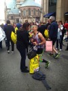 Hobart marathon man proposed to girlfriend
