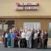 Blood donor center gets welcome