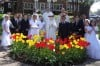 Children conduct May Crowning at St. Mary's