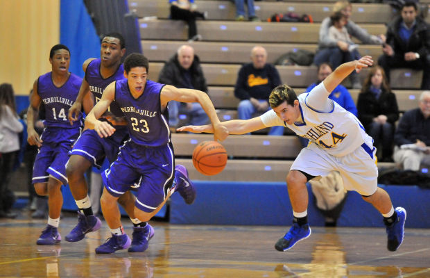 Wilkins helps Merrillville survive Highland rally in boys hoops action