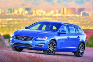 Volvo V60 features dynamic design and performance