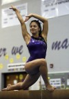 Merrillville sophomore Amy Aponte is a gymnast