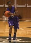 Merrillville's Dariyan Morris looks for open teammate Thursday against Valparaiso.