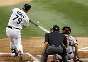 Abreu homers in White Sox loss