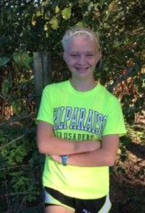 Freshman Hailey Haveck holds promise for Morgan Township cross country