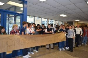 Bishop Noll shows Warrior spirit