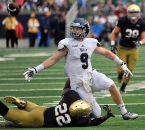 Irish look to improve secondary play vs. Michigan