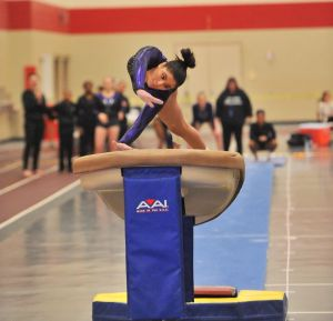 Super freshman Heather Osorio hopes to lead Pirates out of gymnastics sectional