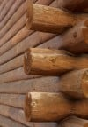 Log home detail
