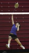 T.F. South badminton team eyeing a state title