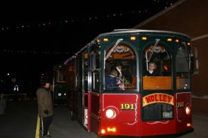 Reservations being taken for Polar Express/City of Lights Tour Dec. 13