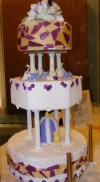 Students create the loveliest of cakes for the big wedding