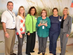 Rehab care worker praised for dedication, teamwork, patient care