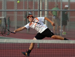 Valpo, Chesterton boys tennis teams advance at Portage Sectional