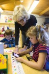 Kindergarteners use iPods to prepare for test