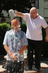 Prairie State College police officers accept water challenge, donate to charity