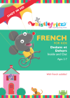 """FRENCH for Kids: Dedans et Dehos aka Inside and Out"" from Whistlefritz Founder Heidi Stock"