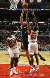 Davis leads Pelicans to 123-115 win over Bulls