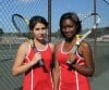 T.F. South's Jessica Gomez and Andriana Johnson