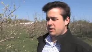 VIDEO: County Line Orchard Has An Early Bloom