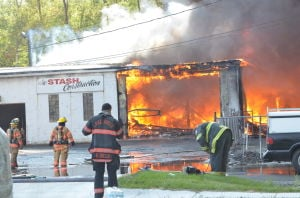 Blaze destroys Calumet Township business