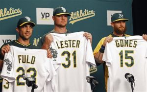 Lester ready to help lead A's back to playoffs