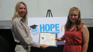 Local McDonald's Operators, Food Bank of Northwest Indiana announce scholarship recipients
