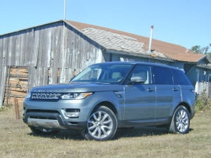 Rover Sport treks lighter ground