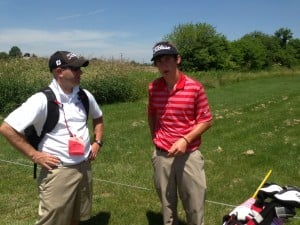 C.P.'s Lee has great first round at state golf finals