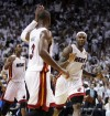 James scores 24, Heat take Game 1 over Dallas