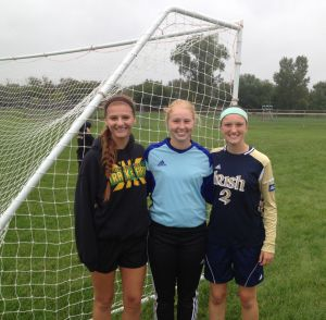 Morgan girls competing well in first varsity soccer season