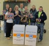 Lowell FFA and FB offices team up for food drive
