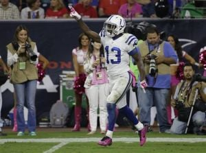 In his 3rd season, Hilton key to Colts' offense