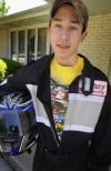Teen survives cancer, now racing cars