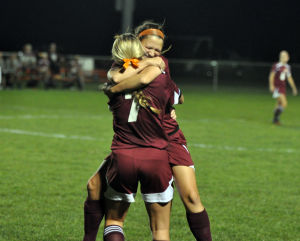 Chesterton girls cruise past LaPorte to claim outright DAC soccer title