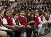 Students gather to celebrate Mass, Catholic schools