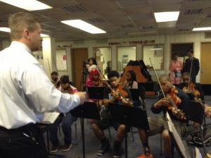 Chinese culture is music to Wirt students' ears