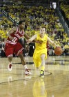 Spike Albrecht playing for 'Grandpa Frank'